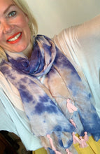 Load image into Gallery viewer, Tie Dye Scarf - chichappensboutique