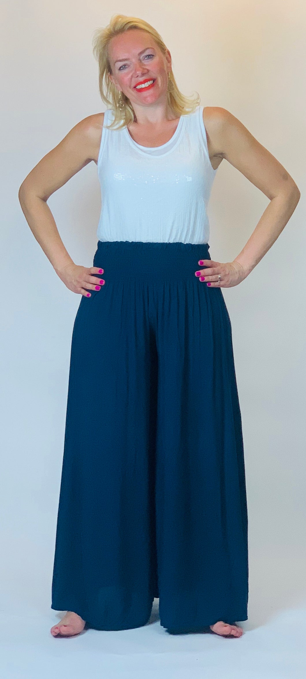 Wide Leg Trousers - chichappensboutique