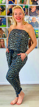 Load image into Gallery viewer, Strapless animal jumpsuit - chichappensboutique