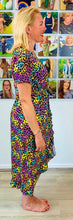 Load image into Gallery viewer, Rainbow leopard dress - chichappensboutique
