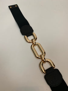 Statement Chunky Chain Stretch Belt - chichappensboutique