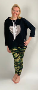 Sequin Heart Top - chichappensboutique