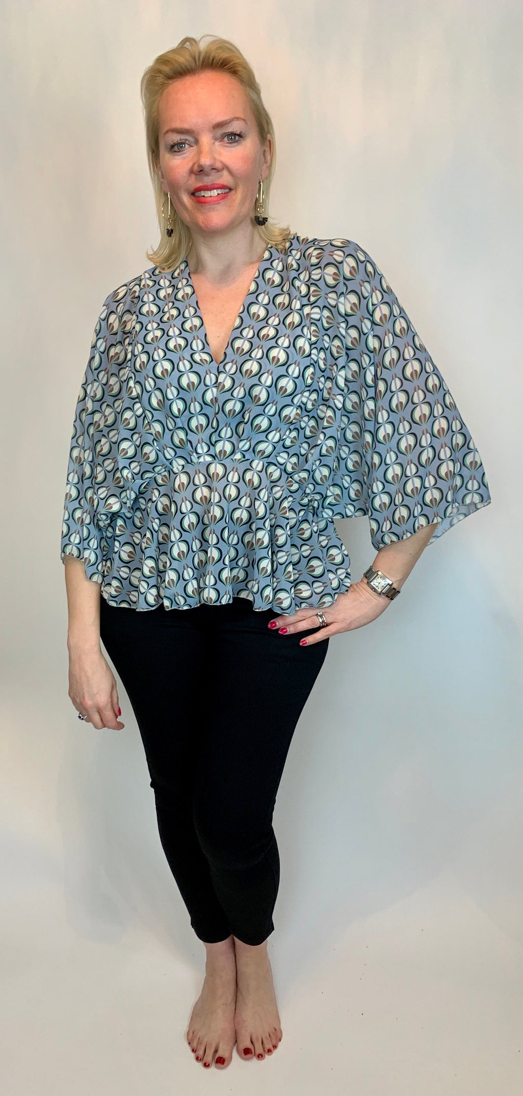 Stella Bat Wing Blouse - chichappensboutique