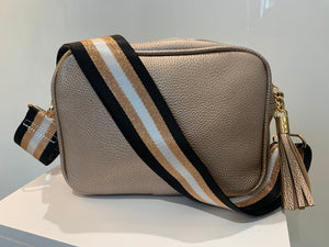Camera Crossbody Bag Single Zip - chichappensboutique