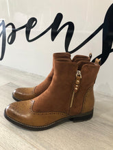 Load image into Gallery viewer, Brogue Style Boots - chichappensboutique