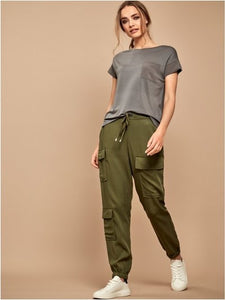 Tencel Cargo Joggers - chichappensboutique