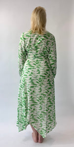 Eli White Green Smudge Maxi Dress - chichappensboutique