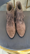 Load image into Gallery viewer, Fringe Suede Feel Boots - chichappensboutique