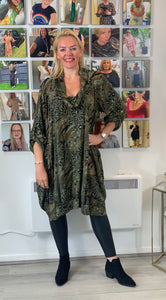 Cowl Neck Animal Tunic - chichappensboutique