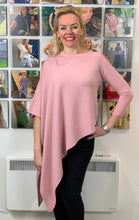 Load image into Gallery viewer, Asymmetric Cold Shoulder Knit (various colours) - chichappensboutique