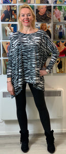 Stella Super Soft Grey Tiger Top - chichappensboutique