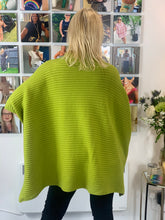 Load image into Gallery viewer, Ribbed Poncho Knit - chichappensboutique