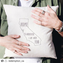 Load image into Gallery viewer, California Home Pillow