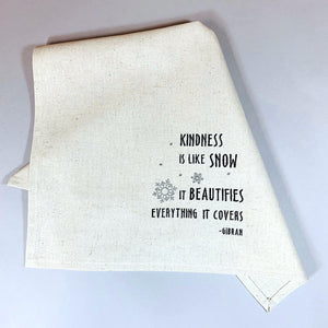 Kindness Snow Towel