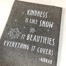 Load image into Gallery viewer, Kindness Snow Towel