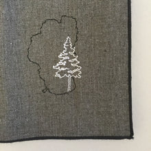 Load image into Gallery viewer, Lake Tahoe with Pine Dinner Napkins