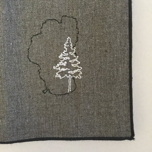 Lake Tahoe with Pine Dinner Napkins