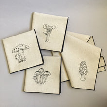 Load image into Gallery viewer, Mushrooms Dinner Napkins