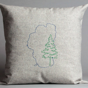 Lake Tahoe with Pine Pillow