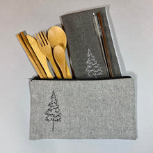 Load image into Gallery viewer, Pine Tree On-The-Go Utensil Set