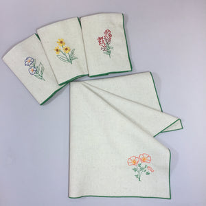 Sierra Wildflowers Dinner Napkins