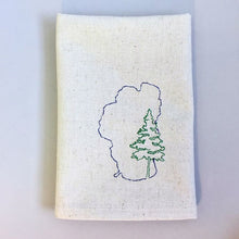 Load image into Gallery viewer, Lake Tahoe with Pine Towel