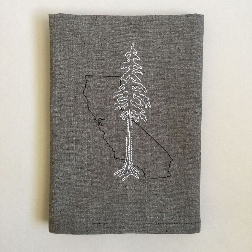 California with Redwood Towel
