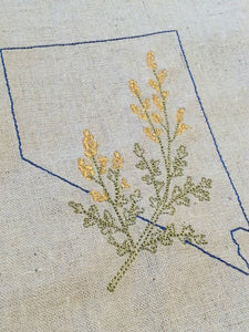 Nevada with Sagebrush Towel