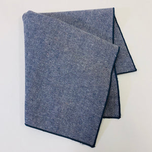 Hemp Denim Napkins, Storm, Set of 6