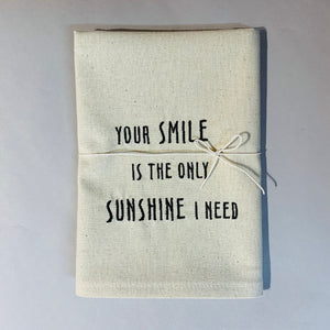 Smile Sunshine Towel