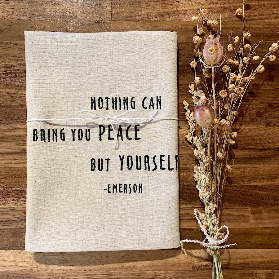 Peace inside Towel