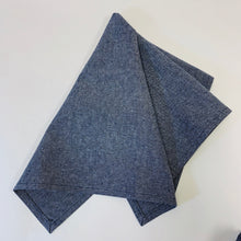 Load image into Gallery viewer, Hemp Denim Towel
