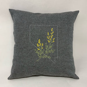 Nevada with Sagebrush Pillow