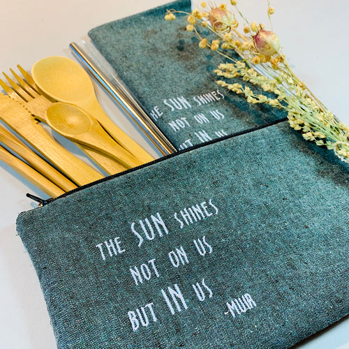 John Muir Sunshine Within On-The-Go Utensil Set