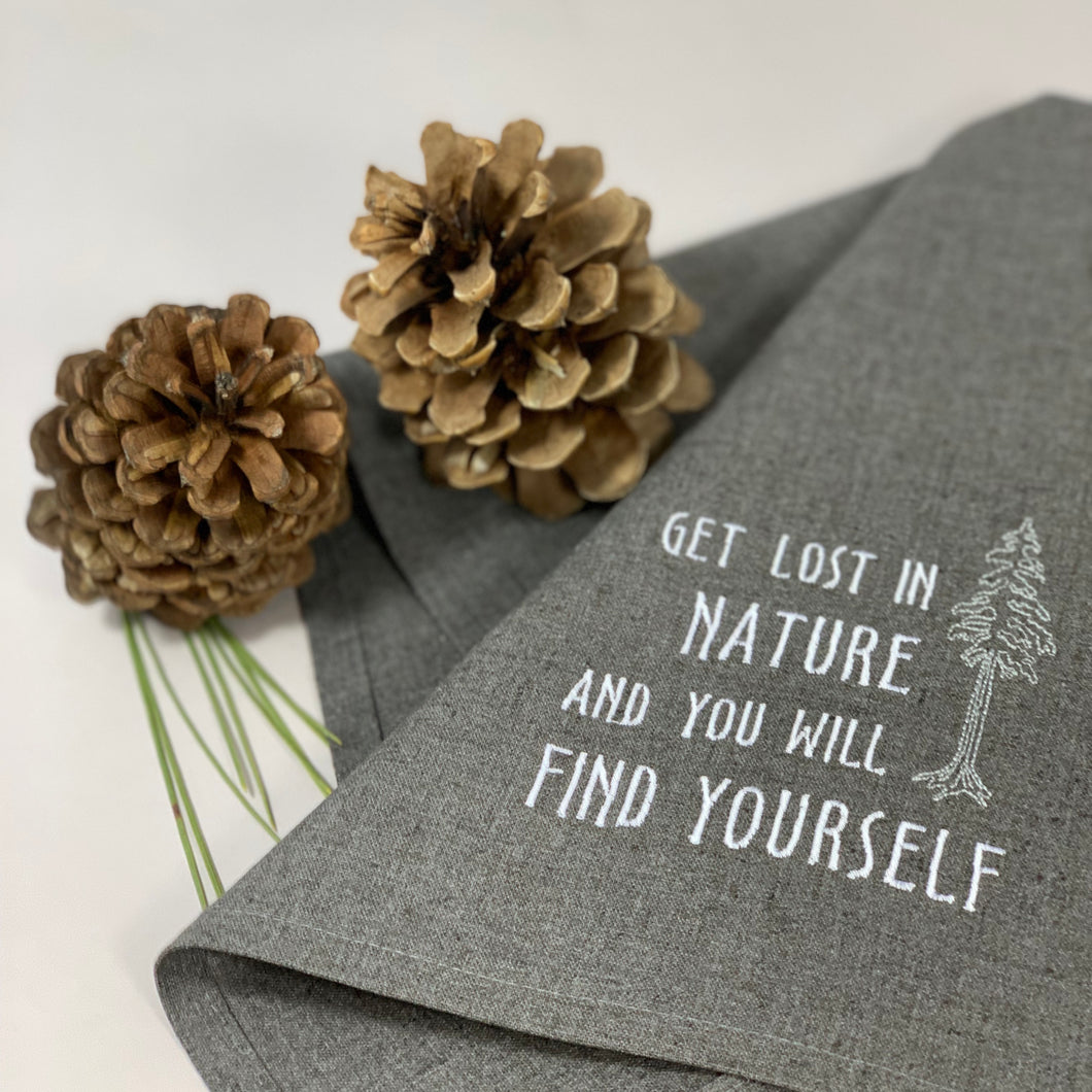 Lost in Nature Towel