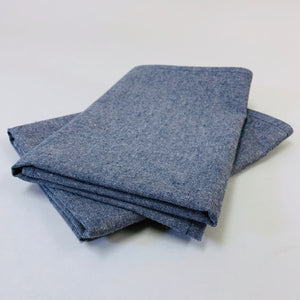 Hemp Denim Towels, set of 2