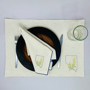 Nevada with sagebrush Placemats