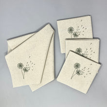 Load image into Gallery viewer, Dandelions Dinner Napkins