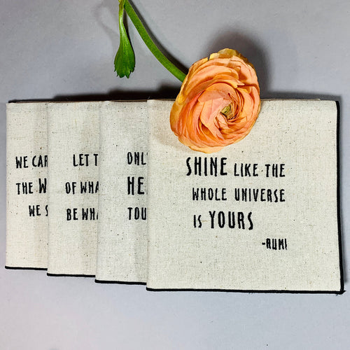 Rumi Quotes Dinner Napkins