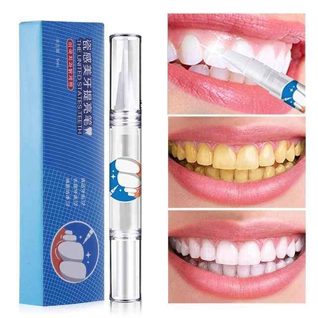 2018 Effective Teeth Whitening Pen Tooth Whitener Tea Coffee Stain
