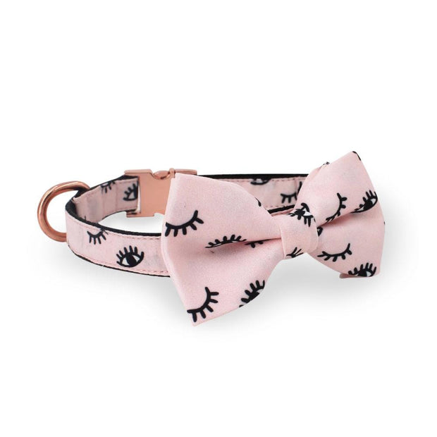 Rose Gold Bow Tie Collar - arthemisclothing - arthemis clothing - artemis clothing