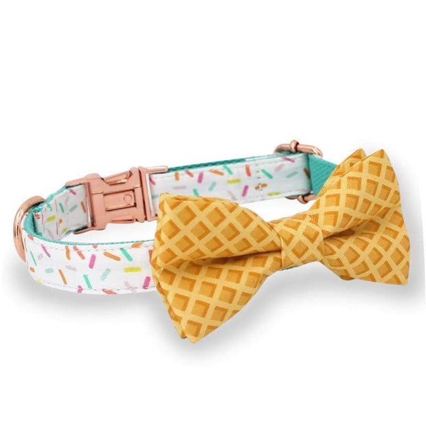 Sprinkles Bow Tie Collar - arthemisclothing - arthemis clothing - artemis clothing
