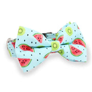 Watermelon Bow Tie Collar - arthemisclothing - arthemis clothing - artemis clothing