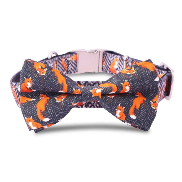 Fox Bow Tie Collar