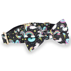 Unicorn Bow Tie Collar - arthemisclothing - arthemis clothing - artemis clothing