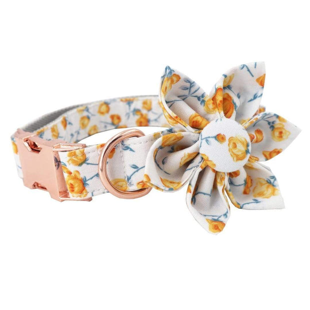 Gold Flower Collar