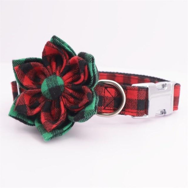 Holiday Bow Tie Collar