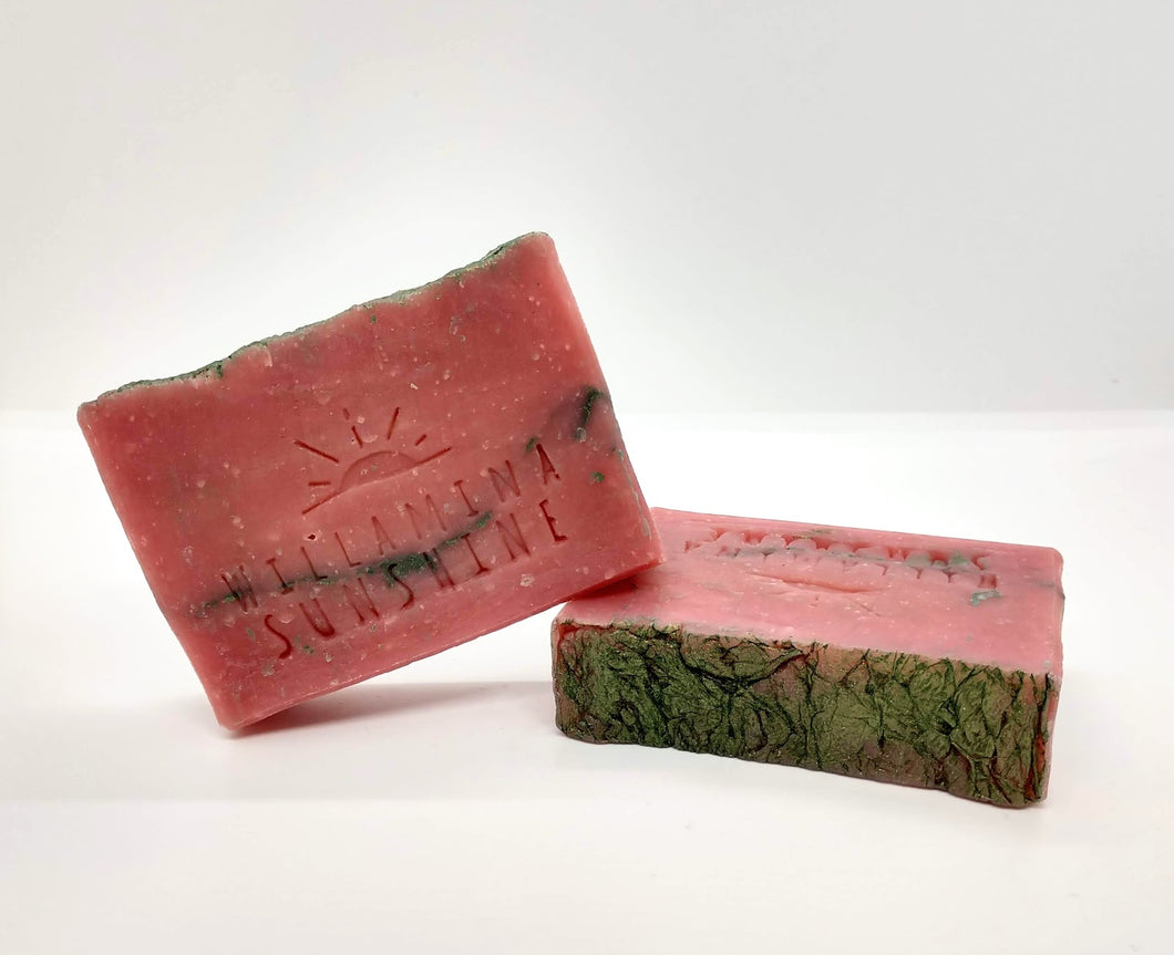 Cannabis Rose Soap