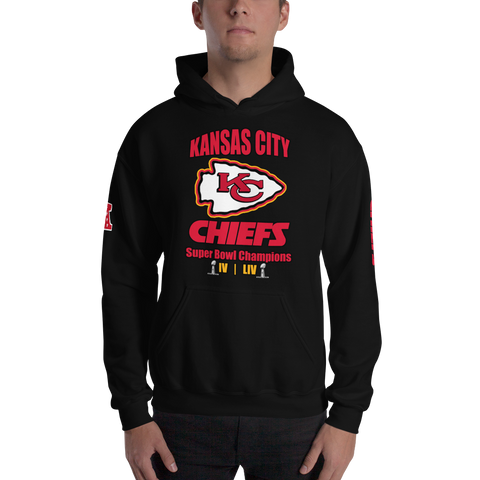 Kansas City Chiefs - Super Bowl Champions LIV Hoodie (Unisex)