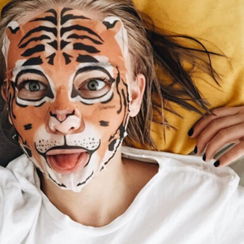 animal sheet mask - Micora Blog